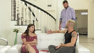 Bi-sexual male pleases horny fastener regarding nonpareil XXX action