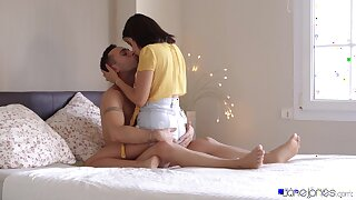 High-class sex session with perky teenage cutie Kitty Love