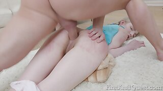 European gal Liza Smoke gets her ass fucked in the most intense manner