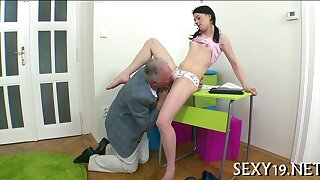 Teacher is fucking young babe