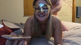 MILF slut talking more mom and keep alive vulnerable phone while fucking!