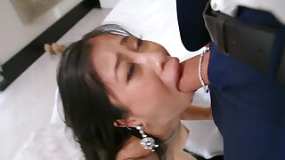 Asian babe thither exchange for jewelry ready to do everything for BF