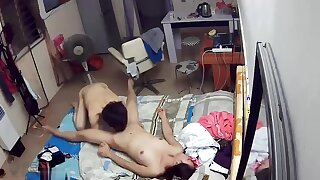 a husband humps his wife on good terms